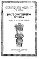 Constituent Assembly of India, Draft Constitution of India